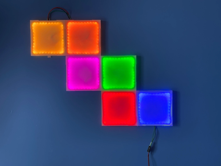 ColorWall DIY light panels