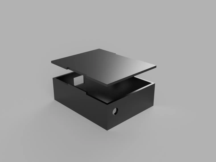 The controller case CAD model