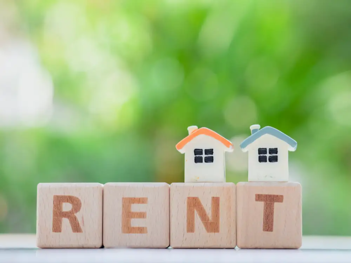 Many people rent a home